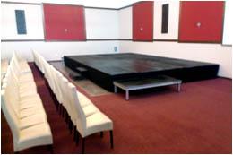 mobilní podium interiéry