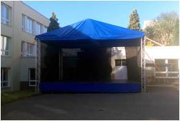 Pódium Quadro 290 - 8,5 x 6 m