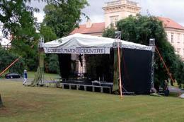 Mobilní podium Open Air
