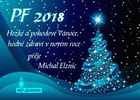 PF 2018 - Hezké a pohodové Vánoce a hodně zdraví v novém roce!