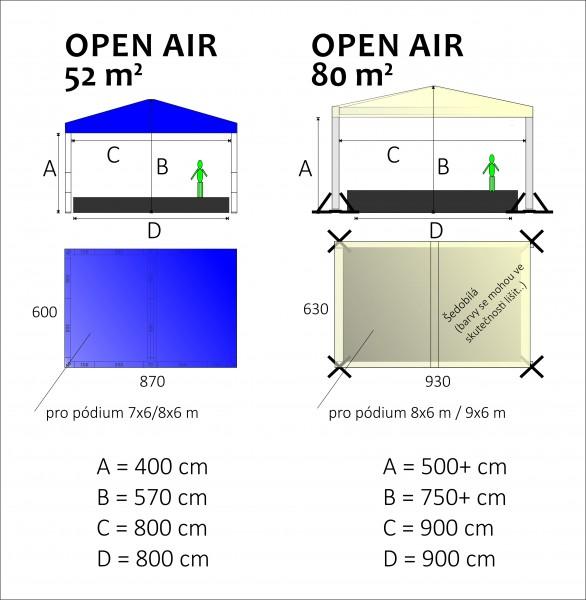 openair podium