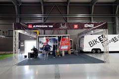 Konstrukce na výstavě For Bikes PVA Praha Letňany
