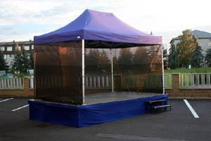 Mobilní zastřešené pódium Pavilon 5 x 3 m